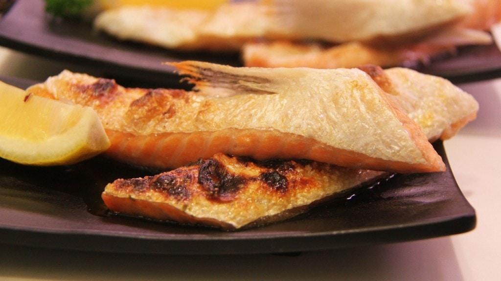 poisson cuit à la plancha