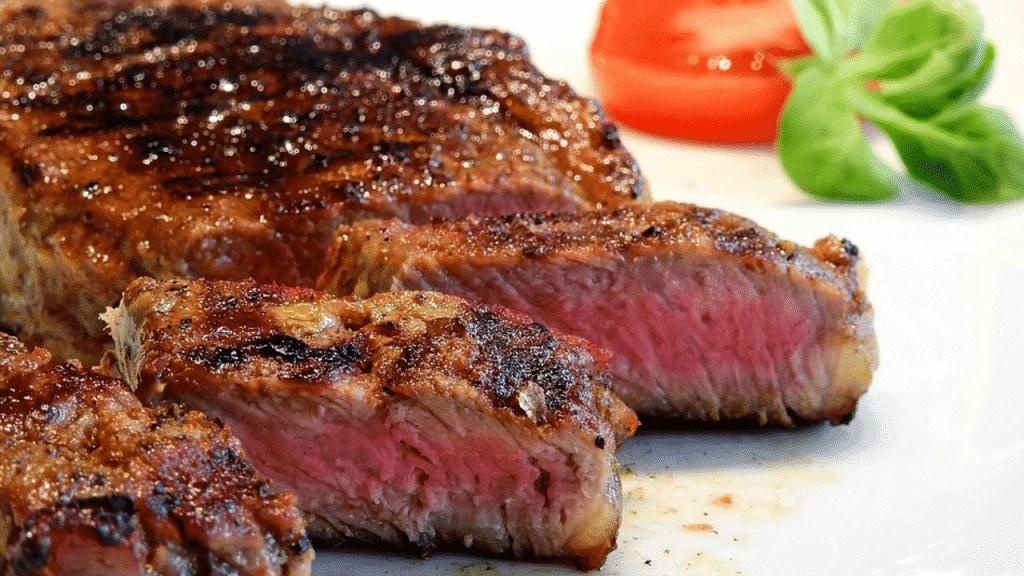 plat côte de bœuf à la plancha